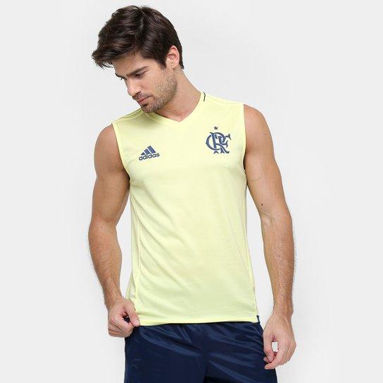 7adeb9c8fd Camiseta Regata Flamengo Adidas Treino Masculina | Netshoes
