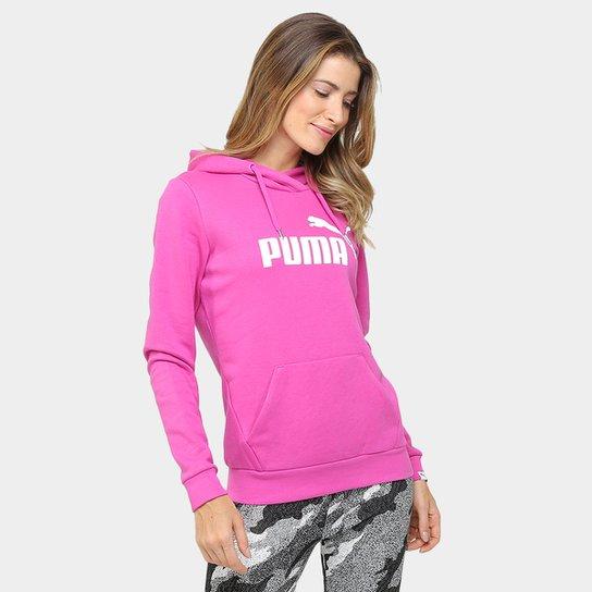36cbc2959839e Moletom Puma Ess No.1 Hoody Fl c  Capuz - Compre Agora