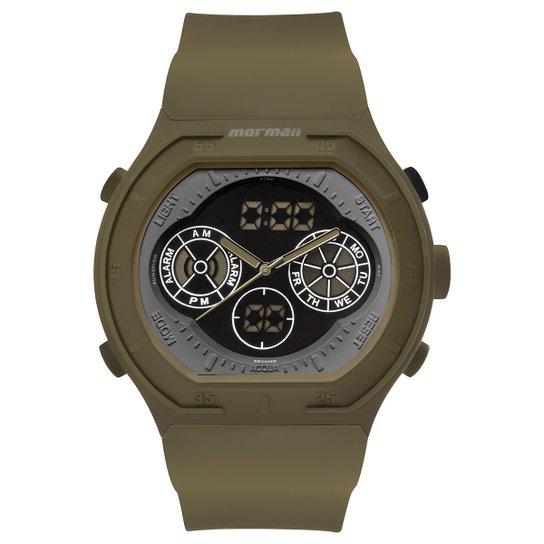 89fc6644f1cb3 Relógio Mormaii Ana-Digi Psicopato MO160323AI 8V - Bege - Compre ...