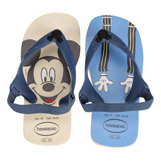 8198cea90 Sandália Infantil Havaianas New Baby Disney Classic - Bege | Netshoes