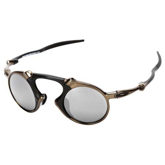 bfeb9e4fd Óculos de Sol Oakley Madman Iridium - Preto+Grafite