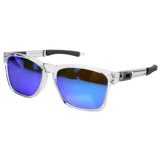 fc509cb52b983 Óculos Oakley Catalyst-Iridium - Incolor e Azul - Compre Agora ...