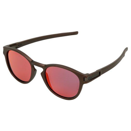 Óculos de Sol Oakley Latch Masculino - Cafe - Compre Agora   Netshoes 2148d7c816