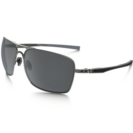 Óculos Oakley Plaintiff - W  Black Iridium Polarizado - Compre Agora ... 090bb60262