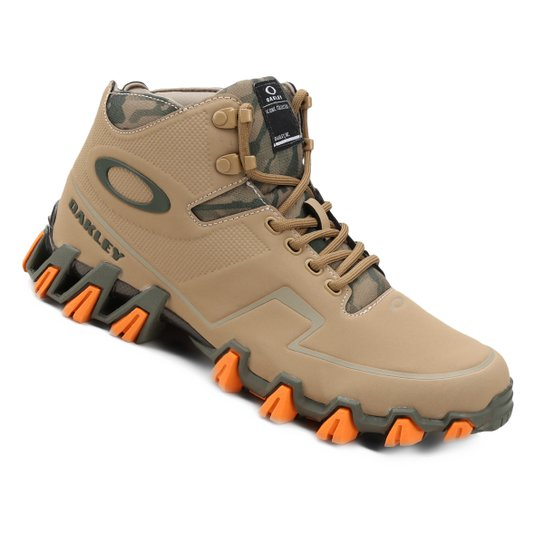 5173a4039d1a2 Tênis Oakley Turlock Mid Masculino - Bege - Compre Agora   Netshoes