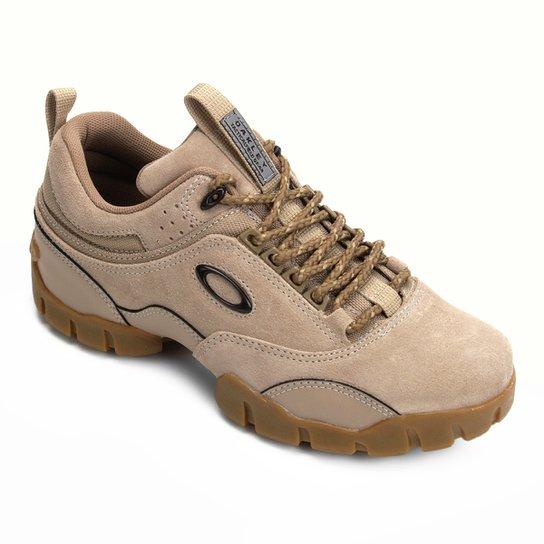 0c77bc76a7684 Tênis Couro Oakley Modoc Low 3.0 Masculino - Bege - Compre Agora ...