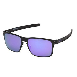5a9aadfd077d5 Óculos Oakley Holbrook Metal Iridium Masculino