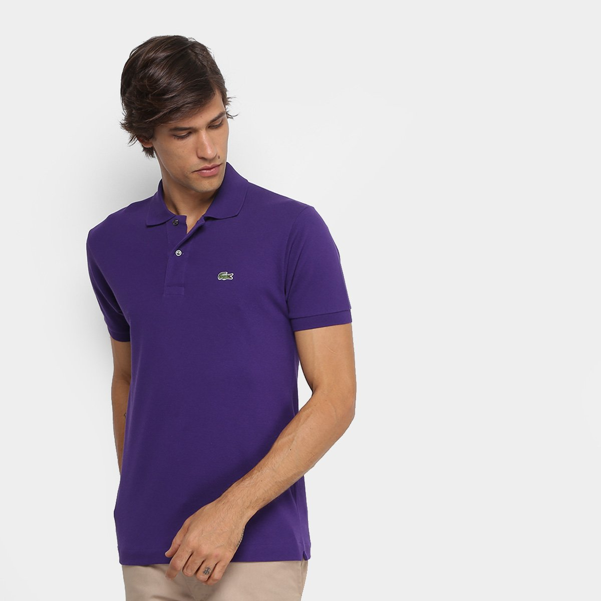 Camisa Polo Lacoste Piquet Original Masculina. undefined 80be8db20d299