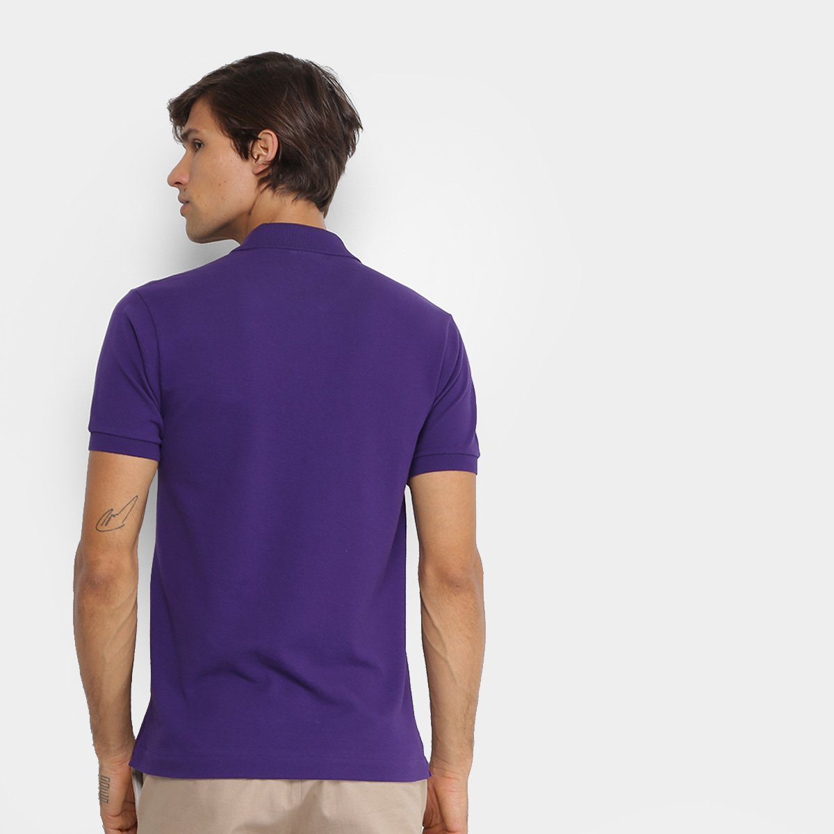 Camisa Polo Lacoste Piquet Original Masculina  d3888dbe28ce2