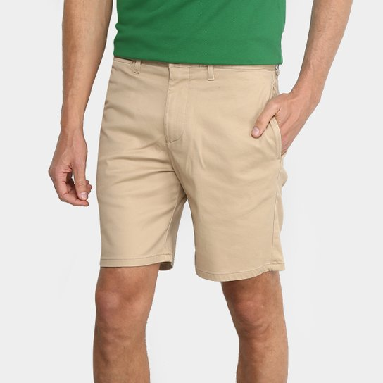 8d3dc8abf23 Bermuda Sarja Lacoste Bolso Faca Clássica Masculina - Compre Agora ...