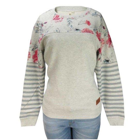 Moletom Feminino Careca Rip Curl Wildflower Crew - Compre Agora ... 7e767bab12788