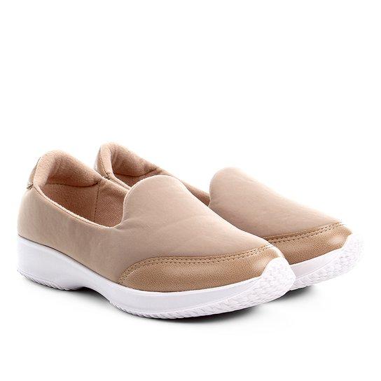 cc22539d1 Slip On Modare Neoprene Ultra Conforto Feminino - Bege | Netshoes