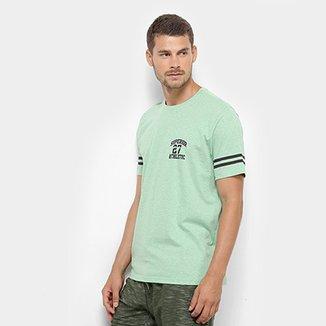 475390b809 Camiseta Burn Estampa Listrada Masculina