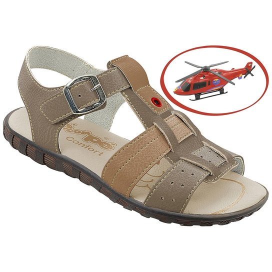 484b4c36e42db Papete Infantil Pé com Pé + Brinde Helicóptero Masculina | Netshoes