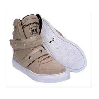 Bota de Treino Feminino Couro Tênis Sneaker Cheia de Marra d62fee7c88f25