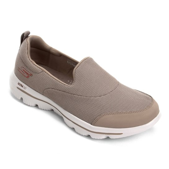 08963c664 Tênis Skechers Go Walk Evolution Ultra-Reach Feminino - Bege