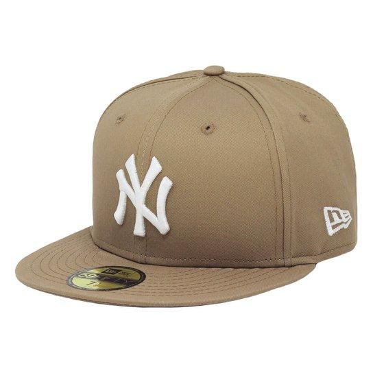 8a063a27babdb Boné New Era Aba Reta Fechado Mlb Ny Yankees Basic - Compre Agora ...