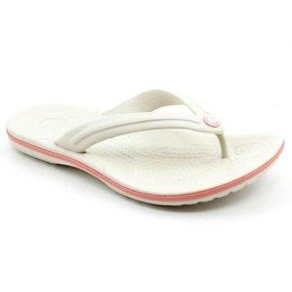 0f6c7d9e09c Chinelo Crocs Crocband Flip Feminino