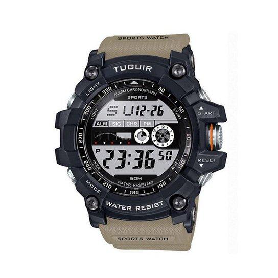 09e95856eab Relógio Tuguir Digital TG6009 - Bege