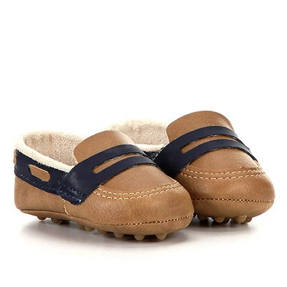 Sapato Infantil Pimpolho Mocassim Fase 01