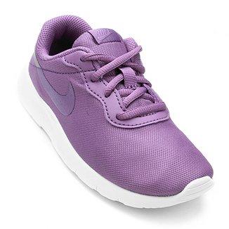 b49121dc21c Compre Tenis Nike Branco Com Roxo Online