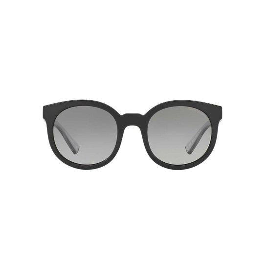 6a22c91a7 Óculos de Sol Armani Exchange Redondo AX4057S Feminino - Preto+Grafite