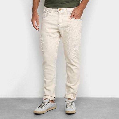 Calça Jeans Vide Bula Destroyed Masculina