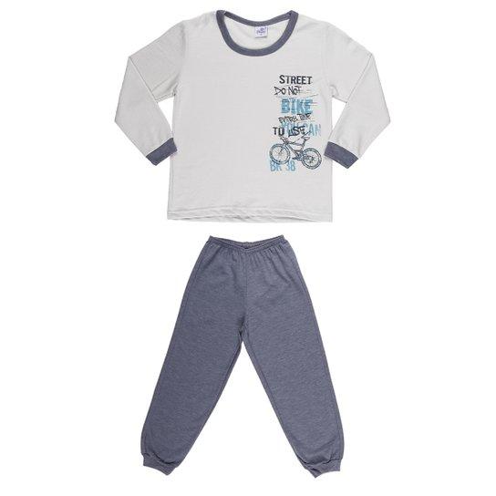 d2b8e36be034ed Pijama Longo Izi Dreams - Bege