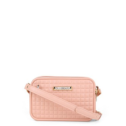 Bolsa Giulia Bardô Quadriculada Mini Bag Transversal Feminina