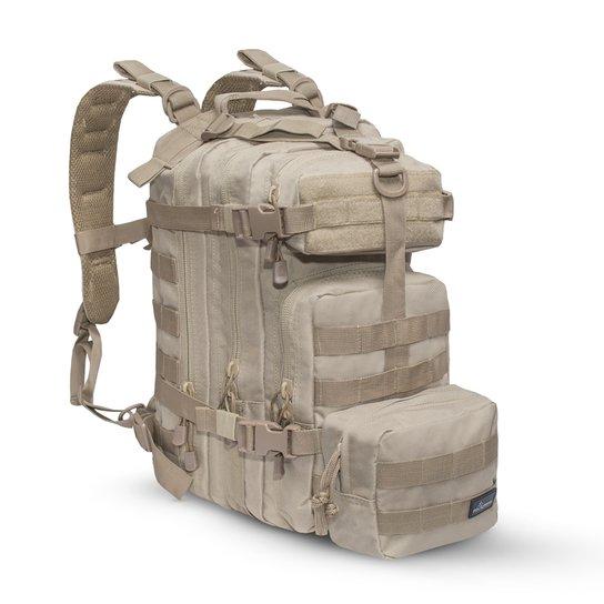 8543176c2ee Mochila Tática Assault Invictus Coyote + Bolso - Compre Agora