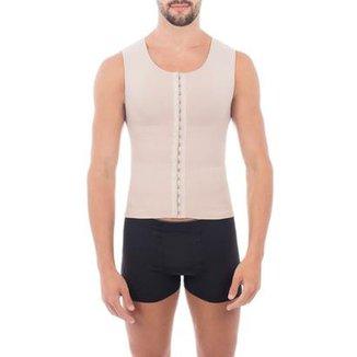 d26c181cf Cinta modeladora masculina slim compressão melhora postura colete Pliè