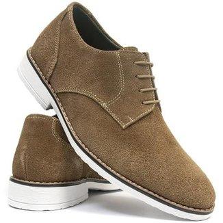 212b2e0791 Sapato Casual Salazari Casual Oxford Couro Masculino