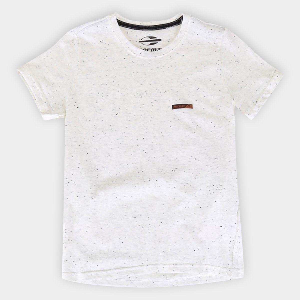 Camiseta Básica Juvenil Mormaii Manga Curta Masculina