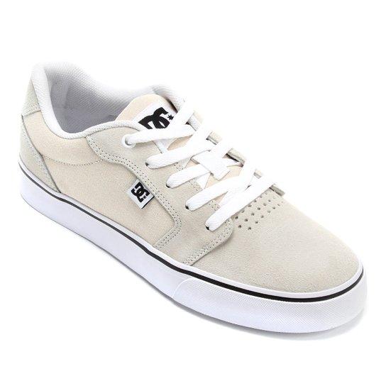 Tênis DC Shoes Anvil La Masculino - Off White - Compre Agora  cea2fc32aae65