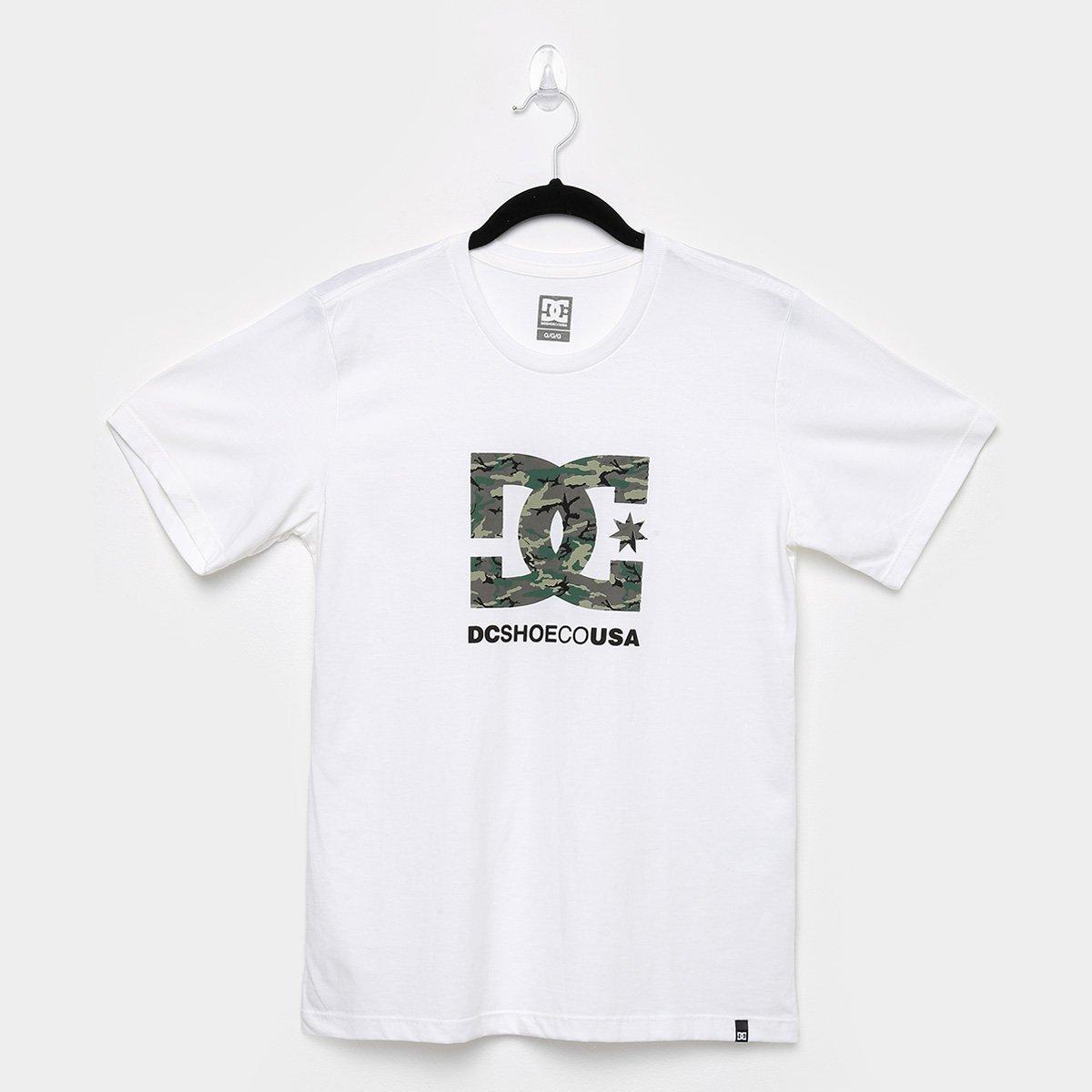 Camiseta Juvenil DC Shoes Básica Fill Masculina