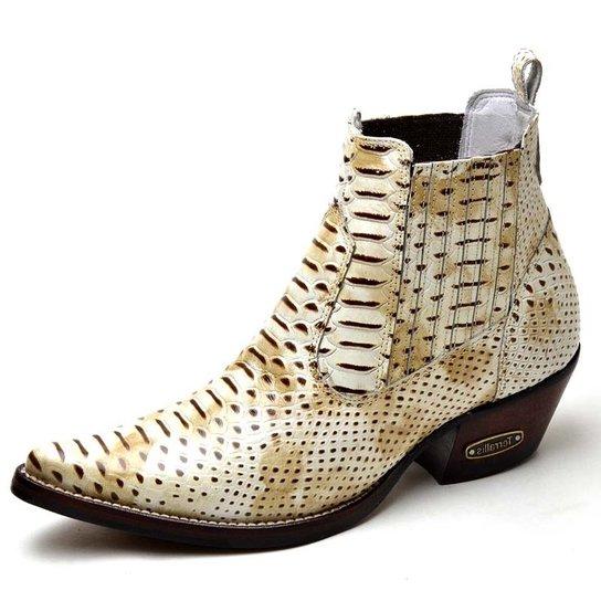 bf5870143d389 Bota Top Franca Shoes Country - Off White - Compre Agora