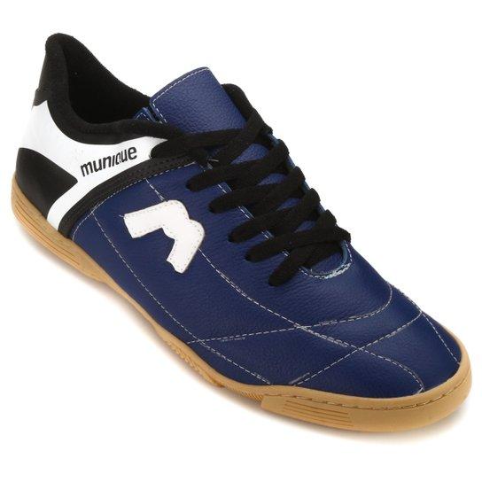 5697c827762b5 Tênis Futsal Munique Astro 621 - Marinho e Preto - Compre Agora ...