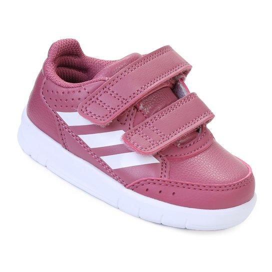 1d71398c495 Tênis Infantil Adidas Altasport Cf I - Rosa - Compre Agora