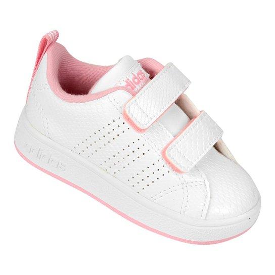 67641427c6039 Tênis Infantil Adidas Vs Advantage Clean - Off White | Netshoes