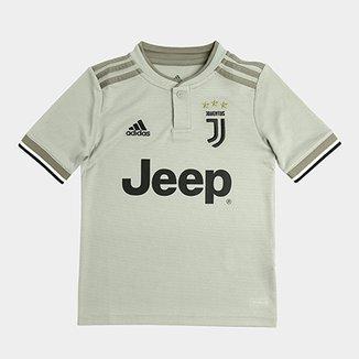 12e8e37e381d6 Camisa Juventus Infantil Away 2018 s n° - Torcedor Adidas