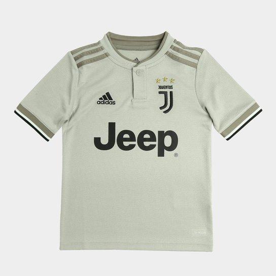 Camisa Juventus Infantil Away 2018 s n° - Torcedor Adidas - Compre ... b84ce2e06a50f