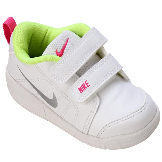 6ffefefd553 Tênis Infantil Nike Pico Lt - Branco e Verde Claro - Compre Agora ...