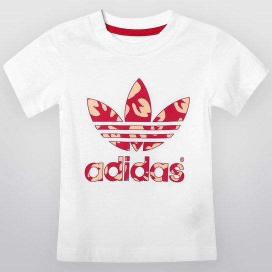 0bcdf3147ac Camiseta Adidas 1 C Trefoil Infantil - Compre Agora