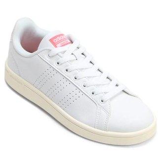 Tênis Couro Adidas Cf Advantage Clean Feminino a0c3199f0caff