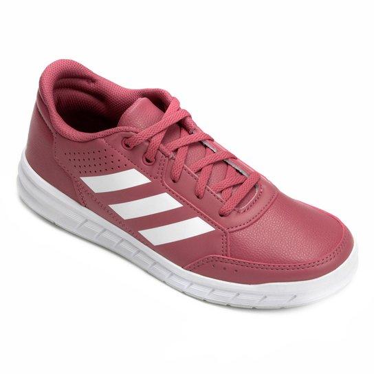793e4cdcf15 Tênis Infantil Adidas Altasport K - Vermelho e Branco - Compre Agora ...