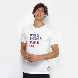 c9112111e9 Camiseta Bahia Lettering Umbro Masculina