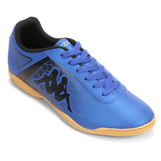 36c7a7edc Chuteira Futsal Kappa Torpedo - Marinho e Preto
