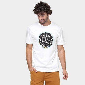 3f37d9f696e56 Camiseta Rip Curl Wettie Floral Classic