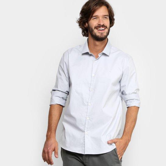 Camisa Social Calvin Klein Regular Fit Masculina - Compre Agora ... 7735c37265