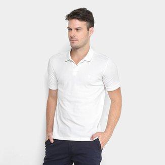 2cc95f5bbcc53 Camisa Polo Calvin Klein Gola Com Textura Masculina